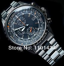 Ef-527bk-1a, CA hombres deportes relojes hombre cuarzo multifunción reloj estudiante marca reloj de buceo, caja original
