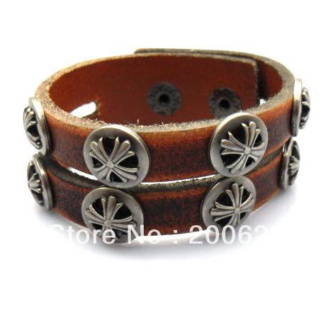 Free shipping Fashion Accessories brown leather bracelet,men sport bracelet<br><br>Aliexpress