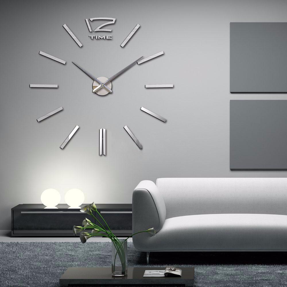Wholesale 2016 New Item Diy 3d Clock Home Decor Wall Clock Quartz ...
