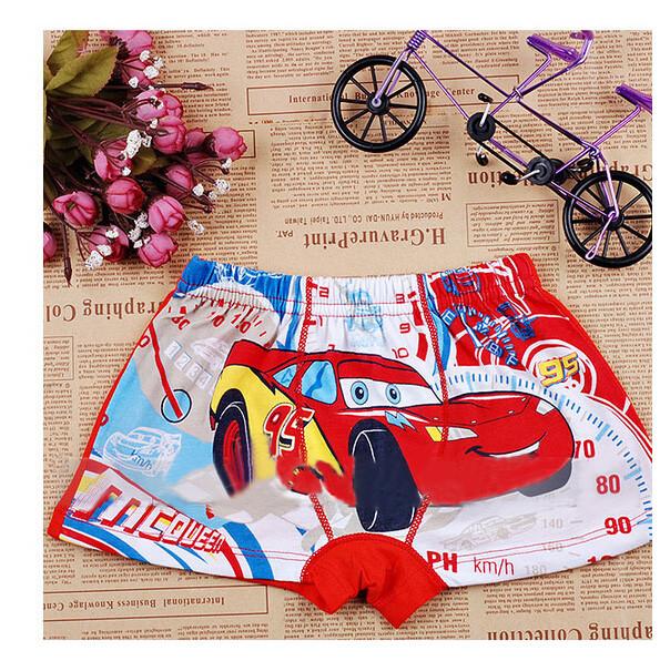 Panties Children Cotton Underwear Elastic Waist Kids Pants Charcater Underpants For Boys Short Briefs With Car Pattern