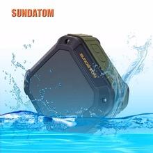 Portable Wireless Bluetooth Speaker Waterproof Outdoor Sport Mp3 Player, SUNDATOM Music Speaker Hi-fi Player with Long Playtime(China (Mainland))