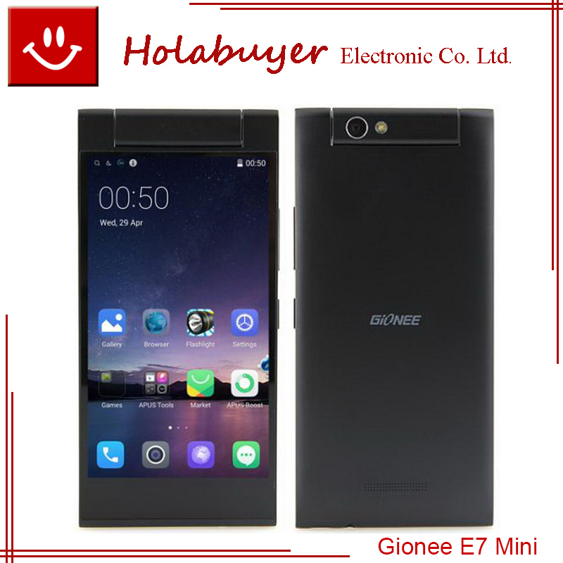 """In stock Original GIONEE ELIFE E7 Mini 4.7"""" WCDMA Phone HD Screen MTK6592 Octa Core 1.7GHz 1G 16G Android 4.4 13MP Camera(China (Mainland))"""