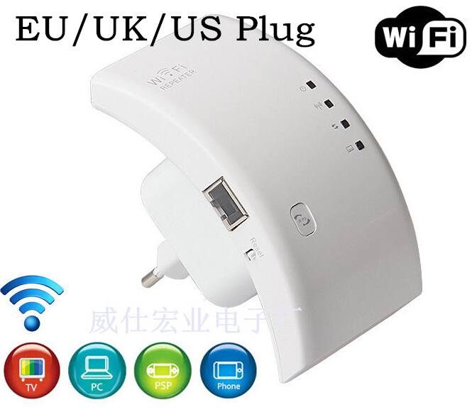 300Mbs Wireless Wifi Repeater 802.11N/B/G Network Wifi Router Expander W-ifi Antenna Wi fi Roteador Signal Amplifier Repetidor(China (Mainland))
