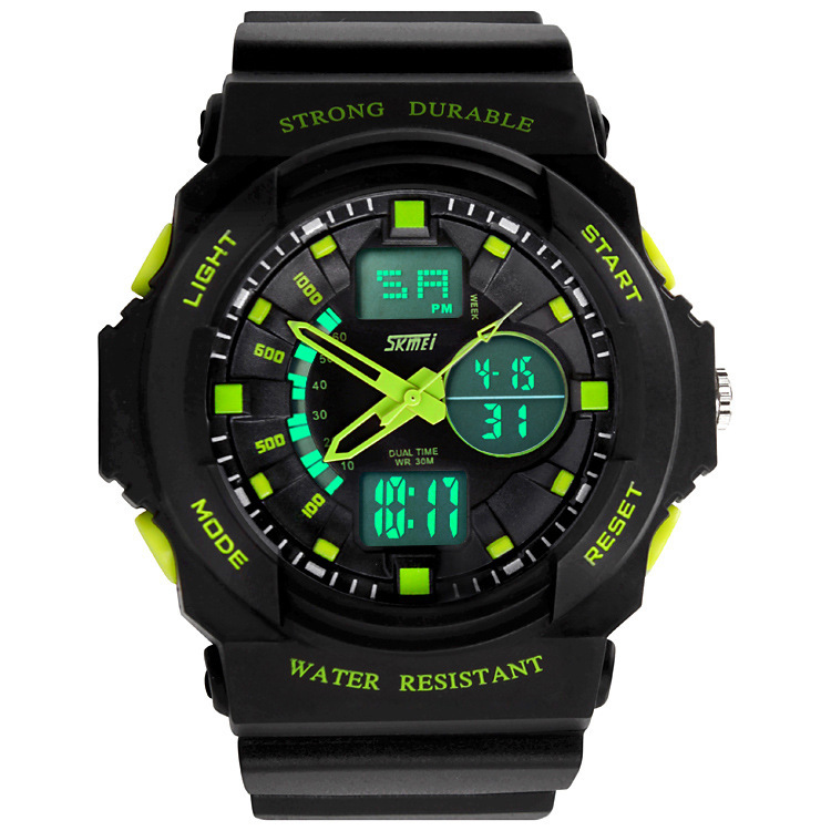 Hot Sale 2014 New Skmei Brand Men LED Digital Military Watch, 5ATM Dive Swim Dress Sports Watches Fashion Outdoor Wristwatches<br><br>Aliexpress