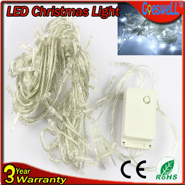 2015 New Christmas Lights 5m 50 Led AC 110V 220V Led String Light luminaria Garden Tree Outdoor Decoration,1pc/Lot,Free Shipping(China (Mainland))