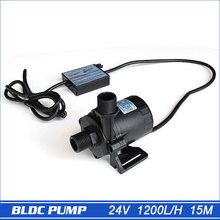 High pressure pump, 1560LPH 15M High Lift, 5-24V DC Submersible Small Water Pump, brushless DC motor Driven, for Hot Water(China (Mainland))