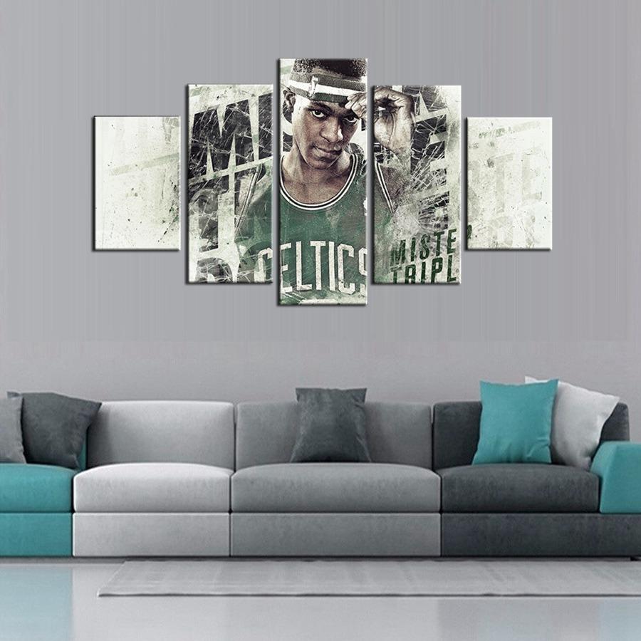 Boston Celtics Basketball Team Rajon Rondo Poster Giclee Wall Art Wall Art Oil Painting Customized and Wholesale Green(China (Mainland))