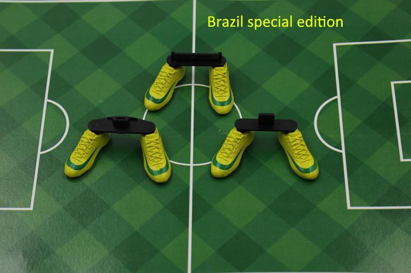Brazil Team Special edition for iphone 4 for iphone 4s world cup-football sneakers stand shoes dust plug cell phone charging(China (Mainland))