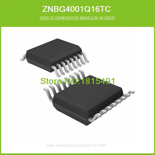 Free Shipping ZNBG4001Q16TC IC GENERATOR 4BIAS 2.0V 16-QSOP 4001 ZNBG4001 16-SSOP 10pcs(China (Mainland))