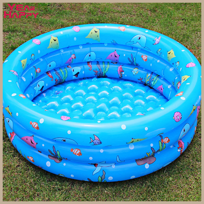 130 cm Outdoor inflatable pool bath Tricyclic ocean ball pool HighQuality Portable summer infant /child pool PISCINAS inflables(China (Mainland))