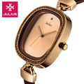 Julius Lady Women s Wrist Watch Quartz Hours Best Fashion Dress Bracelet Brand Leather CZ Girl