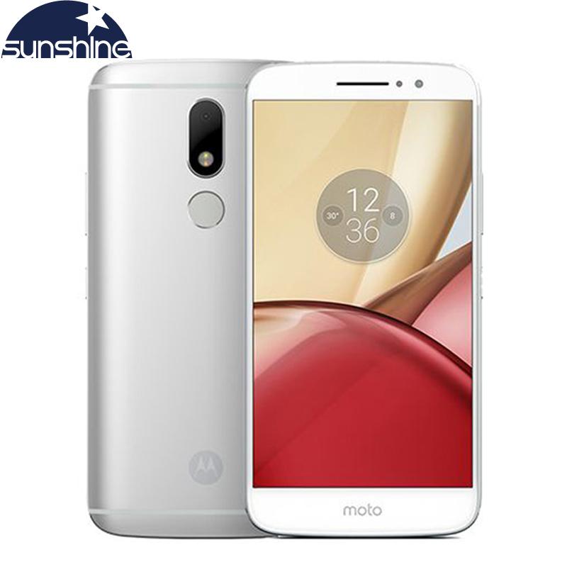 Original Motorola Moto M XT1662 4G LTE Mobile phone 5.5'' 16.0MP Octa core 4G RAM 32G ROM Dual SIM Fingerprint NFC Smartphone(China (Mainland))