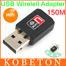 Mini USB 150M Network LAN Card 150Mbps WiFi Wireless Adapter 802.11 n/g/b For Apple Macbook Pro Air Win Xp 7 8(China (Mainland))