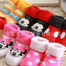 2016 popular 0-1 year baby cotton socks high quality breathable baby keep warm spring cloth toddler anti slip floor socks