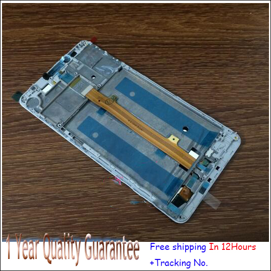 Test ok!White,Black or golden  LCD Display +Touch Screen Digitizer Assembly For Huawei mate 8 with frame free shipping
