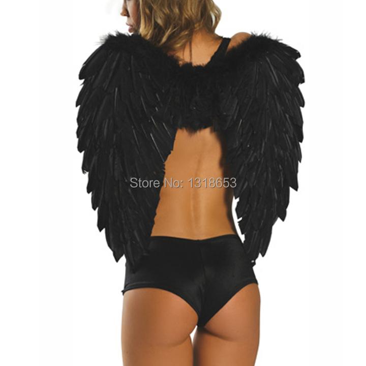Halloween Costumes Black Angel Wings Angel Wings Costumes Black