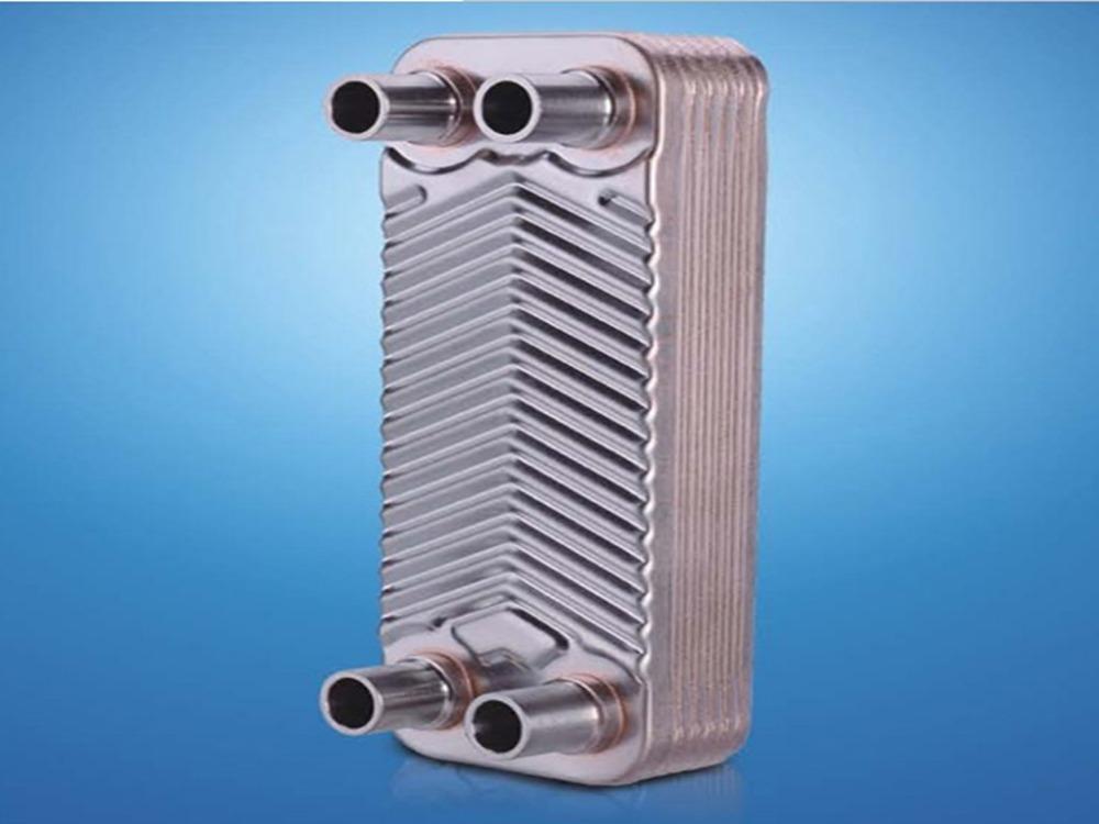 Пластинчатый теплообменник чиллера теплообменник для газового котла baxi luna 240