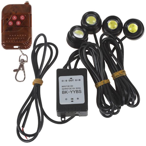 Источник света для авто Brand new SMD 4 x 1.5W 6000 k система освещения brand new 50 288w offroad 4wd atv 4 x 4