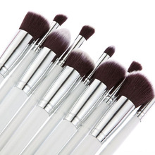 2015 Beauty 10pcs Makeup Brushes Set For Women Cosmetic Make Up Brushes Foundation Eyeshadow pinceis