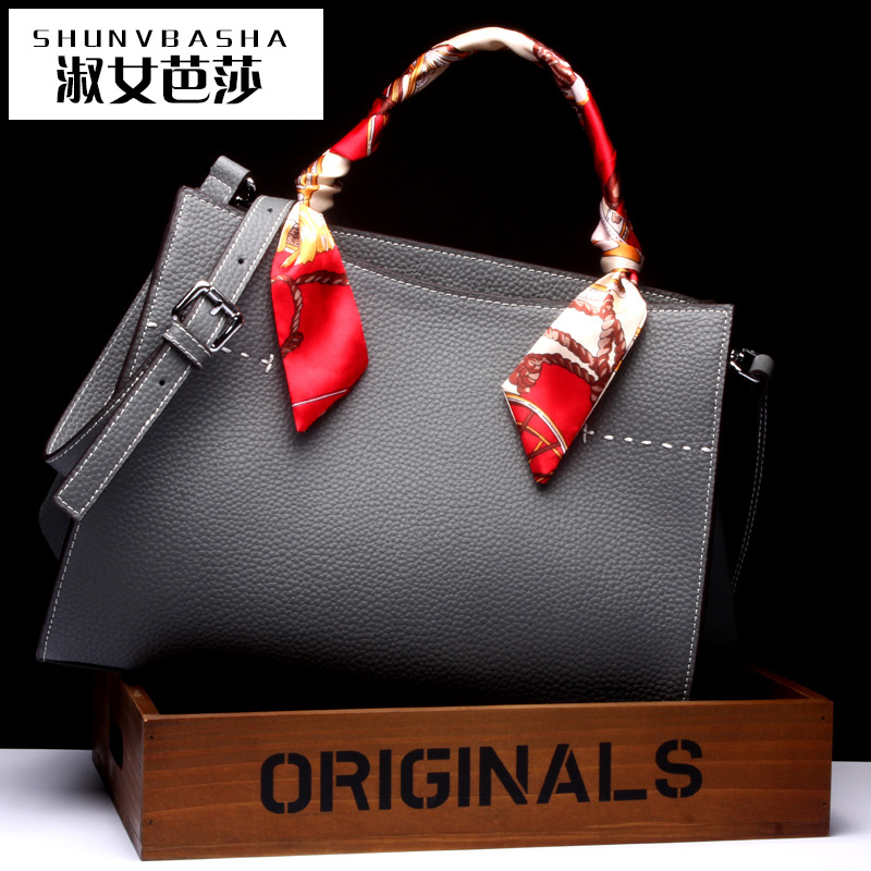 Fashion Women Messenger Bags in High Quality Women Bag Famous Brand Saffiano Genuine Leather Bag Saffiano Genuine Leather Bag(China (Mainland))