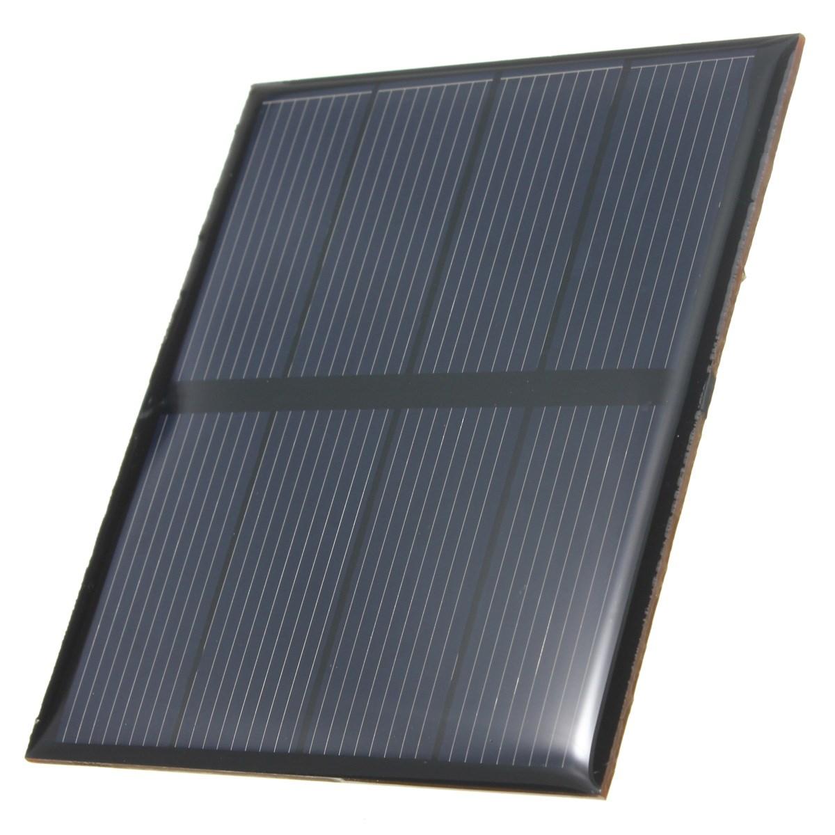 Hot Sale 2V 0.6W 300mAh Polycrystalline Silicon Epoxy Solar Panel Mini Solar Cells DIY Solar Module Stored Energy Power