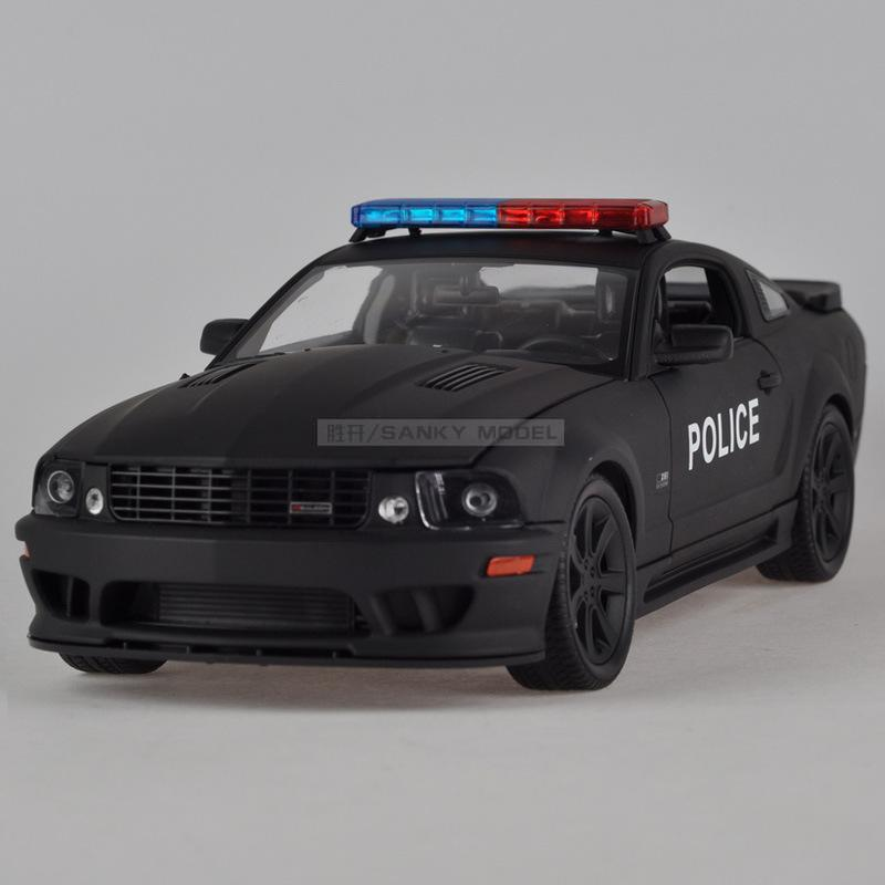 [ alloy car model ] 1:18 WELLY Model Toy Mustang S281 police - China Sanky Mall store