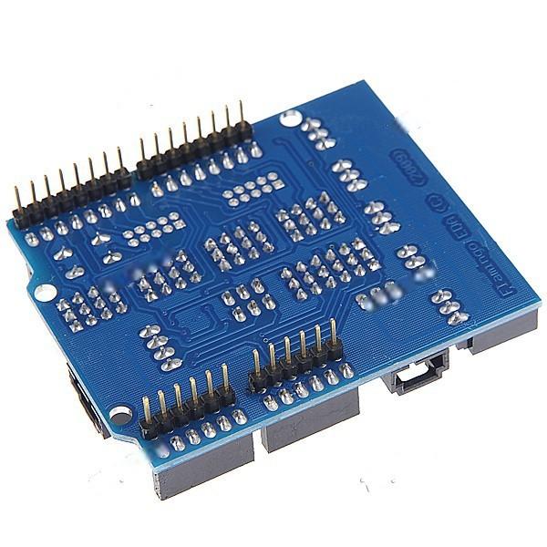 Lazydog Electronics DIY Sensor Shield V4.0 Sensor Expansion Board for arduino (Works with Official for arduino Boards) EC-19765(China (Mainland))