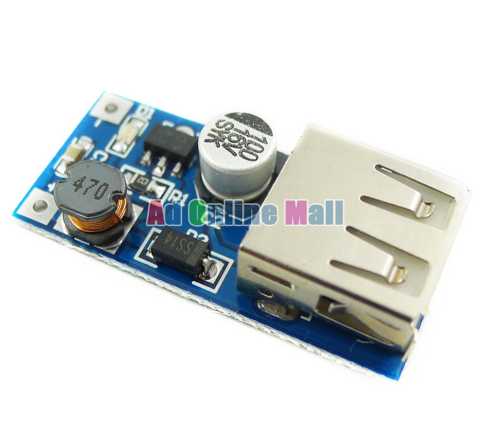 1PCS 0.9V-5V to 5V DC-DC USB Voltage Converter Step Up Booster Power Supply Module(China (Mainland))