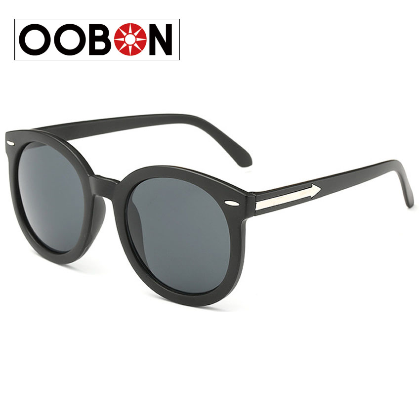 OOBON 2016 Brand Designer Round sunglasses Women Multicolor Mercury Mirror sun glasses Vintage Style Female oculos shade(China (Mainland))