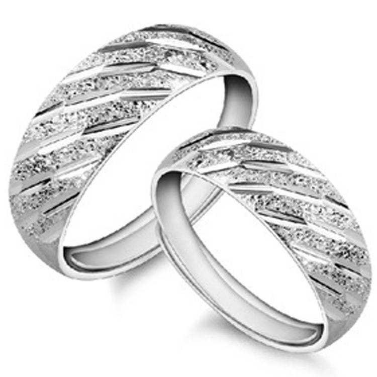 Lovers 925 Sterling Silver Couple Promise Rings Men Women Fashion Endless Forever Love Genuine Luxury Fine Jewelry(China (Mainland))