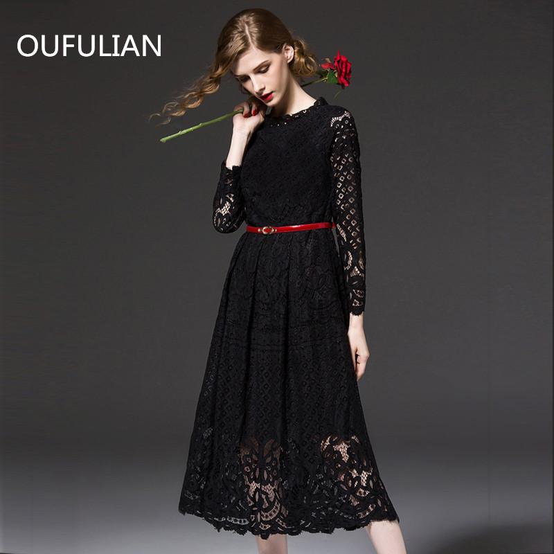 2015 autumn new women's sexy long sleeved lace dress female long sexy dress S-3xL women dress