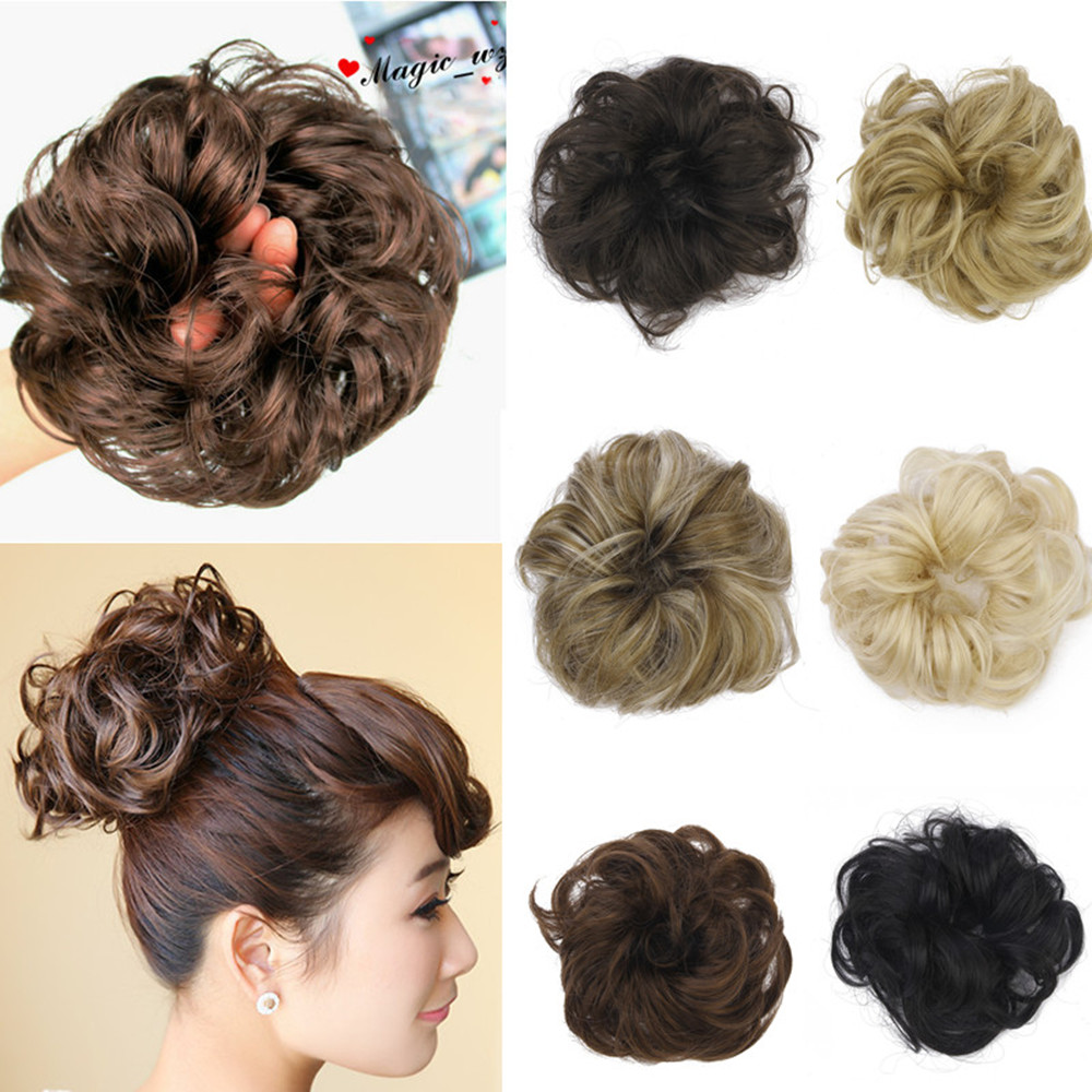 Synthetic hair buns - Lookup BeforeBuying
