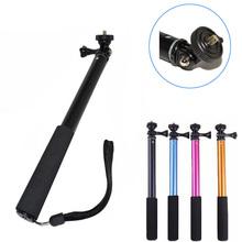 Waterproof Monopod Tripod Extendable Handheld Monopod Selfie Stick Monopod GoPro Hero 4 3 2 xiaomi yi /SJ4000/for Sony Camera