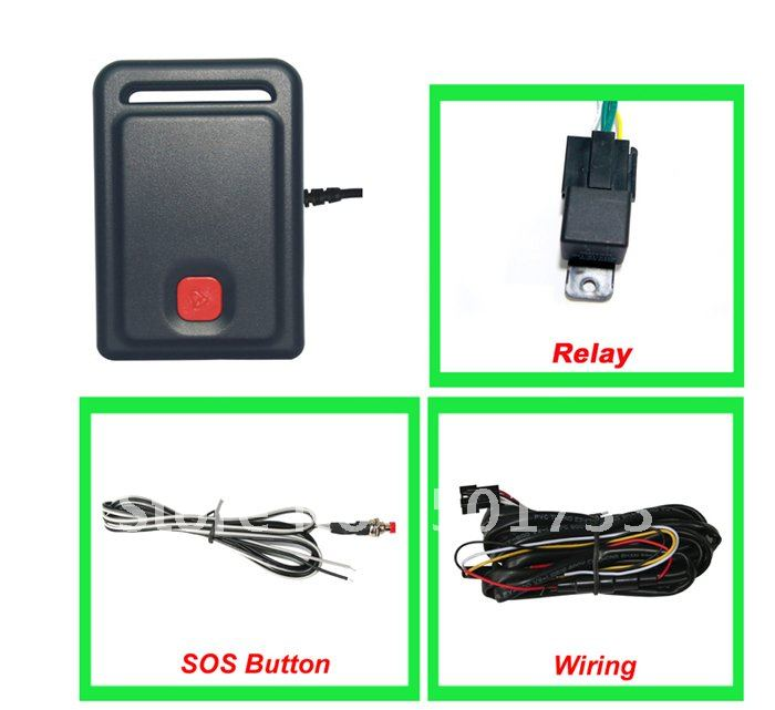 car GPS tracker801# Supports the remote control car gps tracking(China (Mainland))