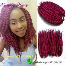 Havana Mambo Twist Crochet Hair Extentions Havana Twist Crochet Braids Hairstyles Synthetic Braiding 10-24inches Crochet Twist