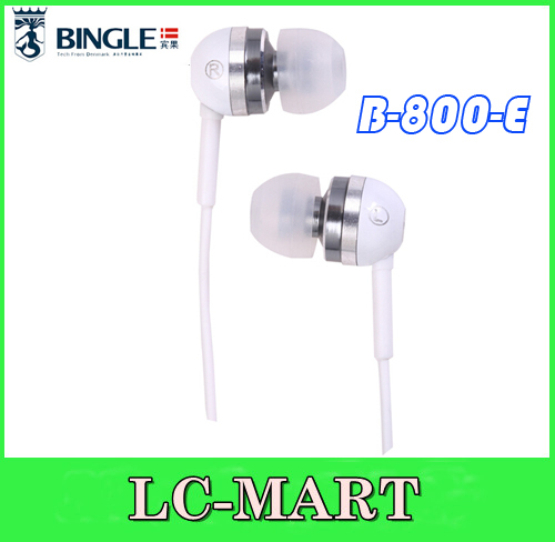 Bingle B-800-E mp3 walkman Multifunction Tiny mobile phone tablet music earplugs earphones(China (Mainland))