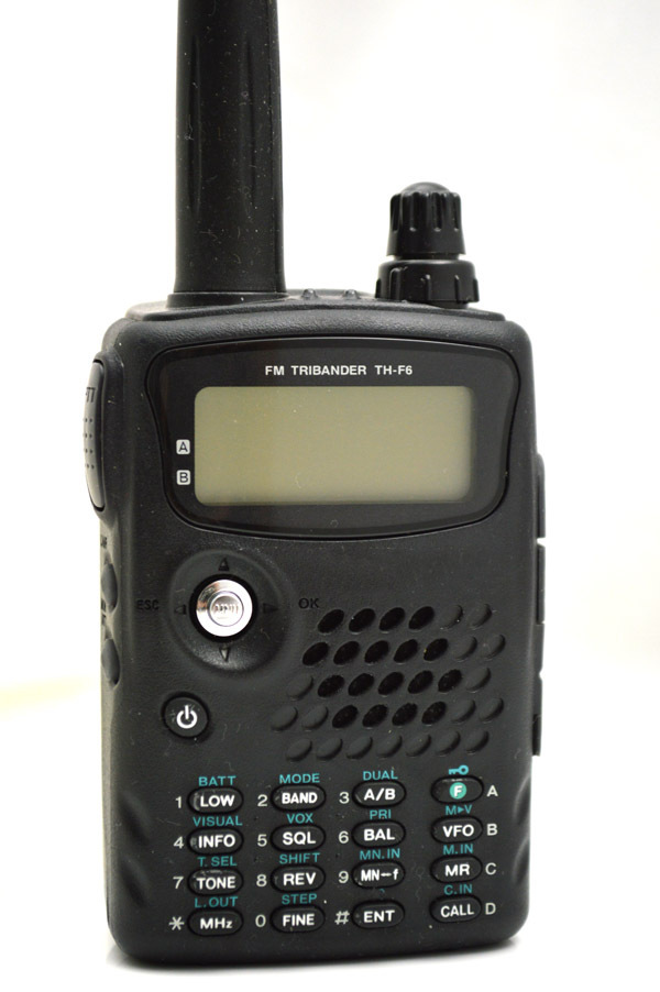 100% Brand New TH-F6 FM Tribander 144/220/440MHz Compact Transceiver/Receiver(China (Mainland))