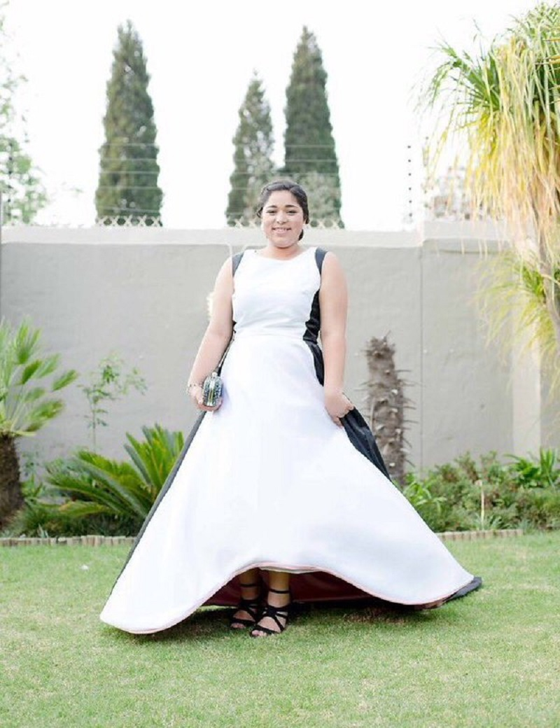 Simple white black wedding dresses 2016 plus size satin for Plus size black wedding dresses