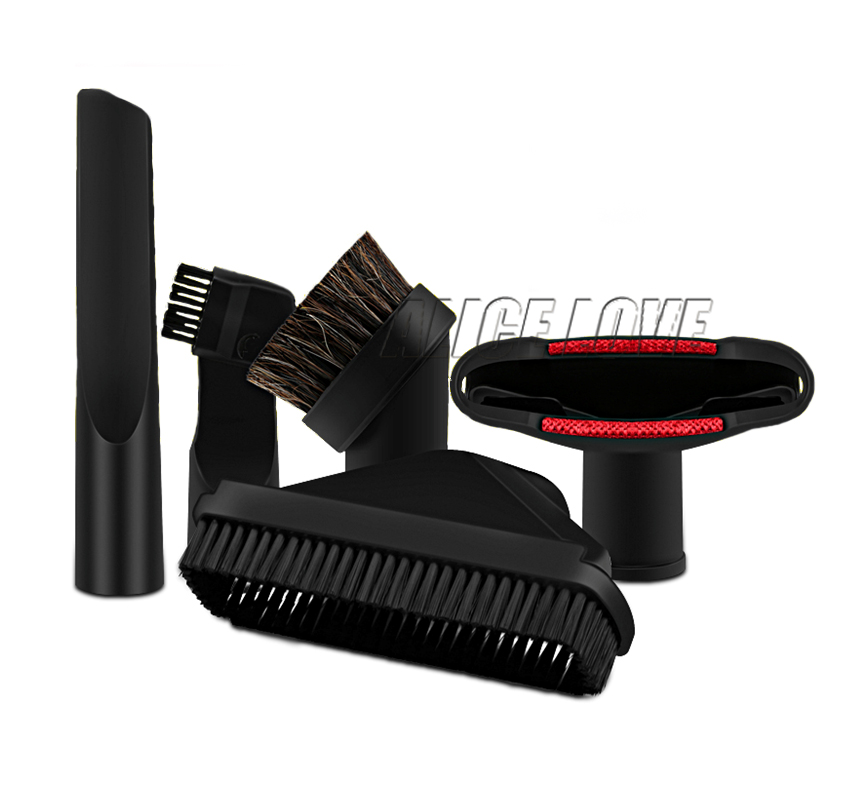 5pcs Free Shipping Replacement Attachment Kit For Philips Electrolux Haier Vacuum Cleaner brush Sofa Crevice 32mm General(China (Mainland))