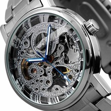 Top Luxury Brand Automatic Mechanical Wristwatch Metal Case Business Watch Man Sport Watches Men Skeleton Clock