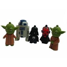 Star War 16GB 32GB Cartoon Darth Vader Memoria USB Flash Drive 3.0 Pen Drive 64GB Memory Stick Pendrive 512GB Yoda Creativo(China (Mainland))