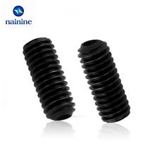 Buy 50Pcs M2 M2.5 M3 DIN916 Black Carbon Steel Metric Thread Grub Screws Inner Hexagon Socket Set Screw HW025 for $1.49 in AliExpress store