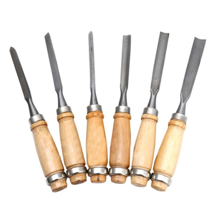 Buy 12pcs/Set New Multi Tool Hand Wood Carving Chisels Knife For Basic Woodcut DIY cheap