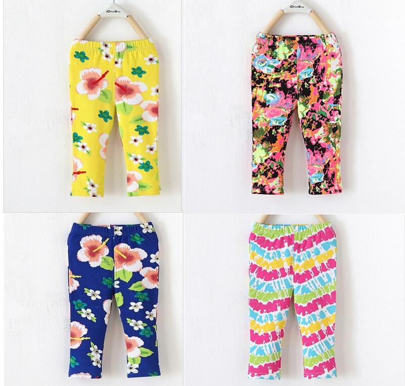 baby girls pants kids cotton flower pattern pants children casual pants toddler trousers 12pcs/lot<br><br>Aliexpress
