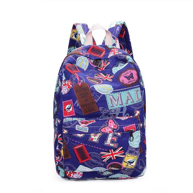 Молодежи Тенденция школьная сумка 2015 новый дамы женщины мужчина сумка Рюкзак bolsas ...
