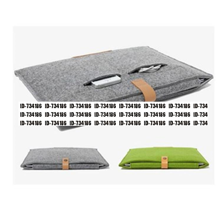 2015 New 10 11 13 15 Inch Plain Laptop Notebook Bags Protective Sleeve Bag Computer Tablet Case Digital Receive Felt Packages(China (Mainland))