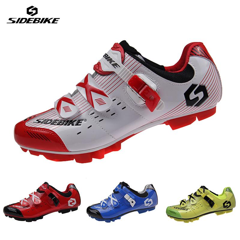 SIDEBIKE Professional Women Men MTB Athletic Shoes Bicycle Cycling Nylon TPU Sole Shoes Mountain Bike Self-Locking Racing Shoes(China (Mainland))