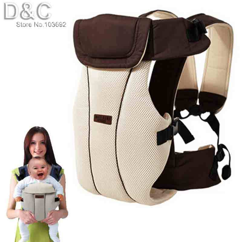 2015 Updated 2-30 Months Breathable Multifunctional Front Facing Baby Carrier Infant Sling Backpack Pouch Wrap Baby Kangaroo(China (Mainland))
