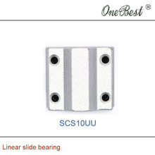 2Pcs SCS10UU Linear slide bearing inner hole 10mm Box Slider 3D printer platform to promote the