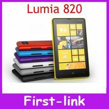 12 months warranty original Nokia Lumia 820 GPS 4.3 inch touchscreen 8MP camera  smartphone in stock